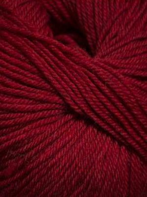 220 Superwash #1922 Christmas Red Heather - Mad Knitter's Yarn