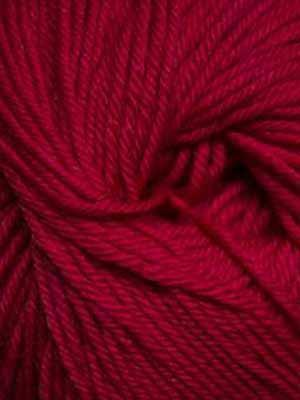 220 Superwash #809 Really Red - Mad Knitter's Yarn