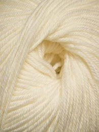 220 Superwash #871 White - Mad Knitter's Yarn