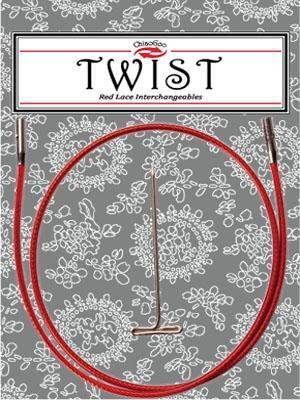 ChiaoGoo TWIST Red Cables - Mad Knitter's Yarn