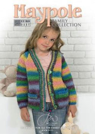 Euro Baby Maypole Family Collection Pattern Book - Mad Knitter's Yarn