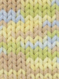 Babe Softcotton Yarn # 201 Lt Yellow, Lt Blue, Yellow, Mint - Mad Knitter's Yarn