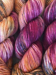 Copper K Squish Worsted | Farmers Daughter Fibers - Mad Knitter's Yarn