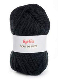 Katia Tout De Suite #106 Black - Mad Knitter's Yarn