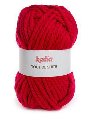 Katia Tout De Suite #114 Red - Mad Knitter's Yarn