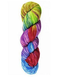Indulgence Hand Painted #15 Bora Bora - Mad Knitter's Yarn