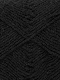 Bamboo Cotton DK #534 Black - Mad Knitter's Yarn