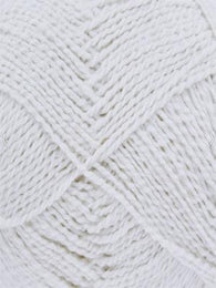 Finesse Cotton Silk DK #2810 White - Mad Knitter's Yarn