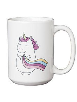 Knit Picks Coffee Mug | Sparkles The Knitting Unicorn - Mad Knitter's Yarn
