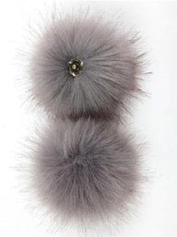 Pom Pom | Solid Faux Fake Fur - Mad Knitter's Yarn