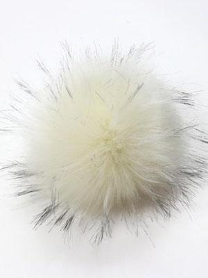 Pom Pom | Two Tone Faux Fake Fur - Mad Knitter's Yarn