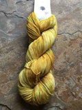 Wild Mustard Fingering | Round Mountain Fibers - Mad Knitter's Yarn