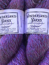 Sassy Violey #200 | Wonderland Yarns Unicorn
