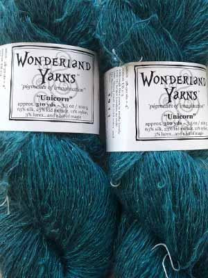 Sleeping Gryphon #30 | Wonderland Yarns Unicorn - Mad Knitter's Yarn