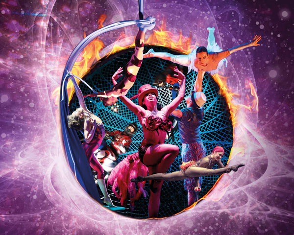 Win 2 tickets to Cirque Berserk! at Guildford's G Live