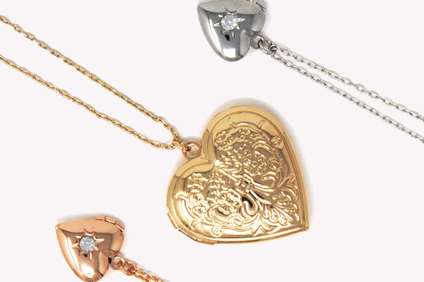 WIN a choice of two lockets from Johnny Loves Rosie and a £50 voucher for The Hummingbird Bakery