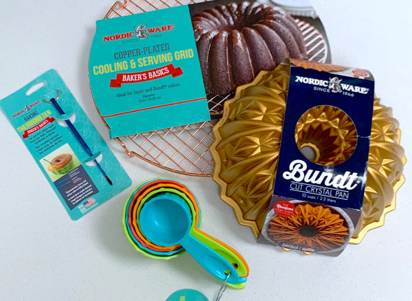 Win a Nordic Ware Bundt® baking bundle and £30 Hummingbird Bakery vouchers