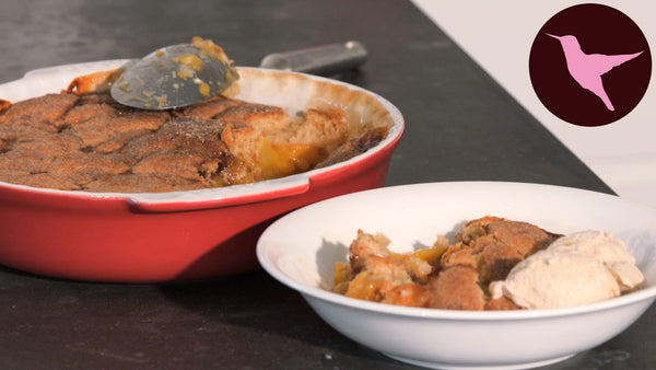 VIDEO: Peach Cobbler