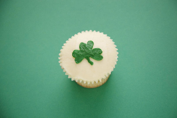 Celebrate St. Patrick's Day with shamrock cupcakes – in-store tomorrow!