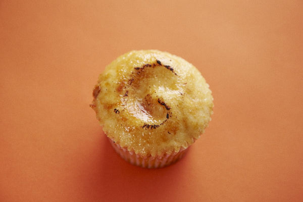 The making of our Crème Brûlée Cupcake Daily Special