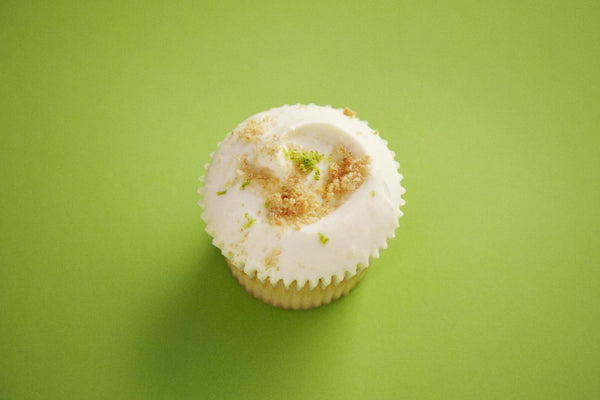 The making of our Key Lime Cupcake Daily Special