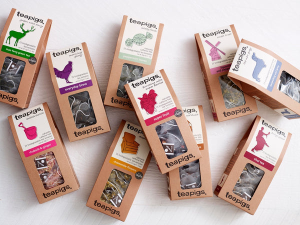 Win the whole collection of teapigs tea and £50 Hummingbird Bakery vouchers
