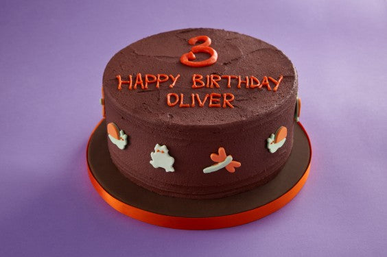Chocolate Bugs Celebration Cake Photo 2