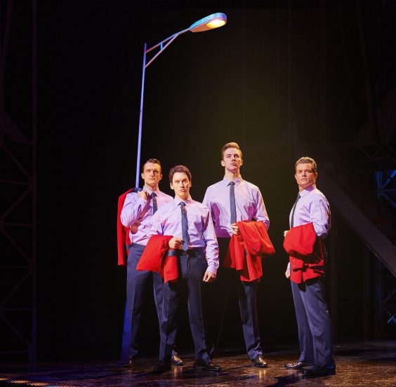 JERSEY BOYS London Cast 2016