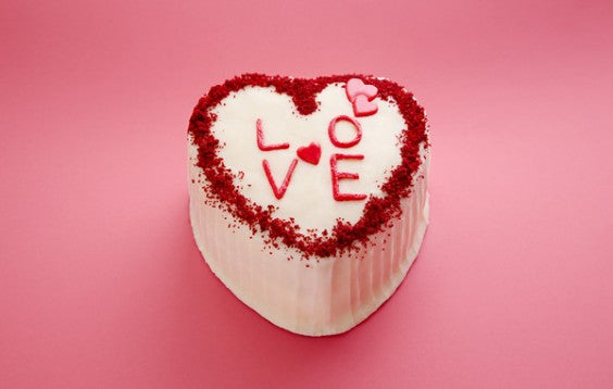 Red Velvet Valentine's Day Cake 2