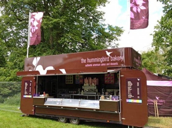 The Hummingbird Bakery Cornbury Mobile Unit 2