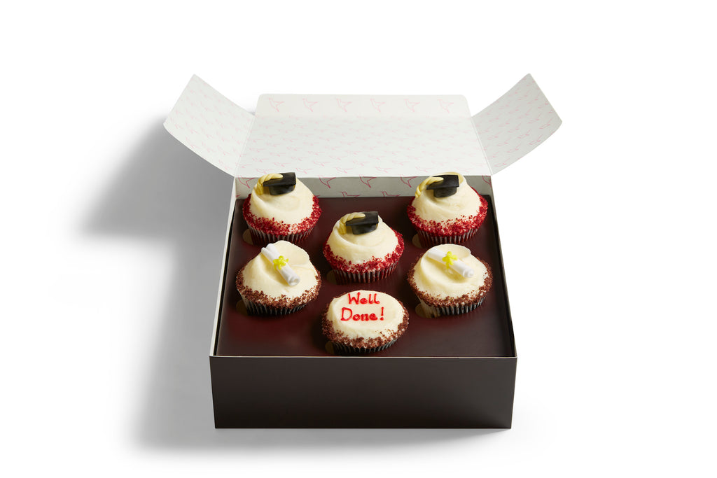 Graduation Cupcake Selection Box