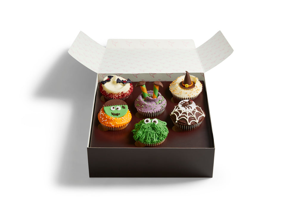 Vegan Halloween Cupcake Selection Box