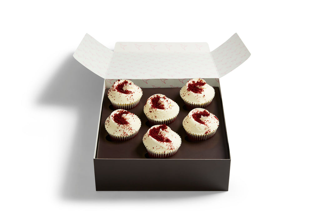 Small Made Without Gluten Red Velvet Selection Box