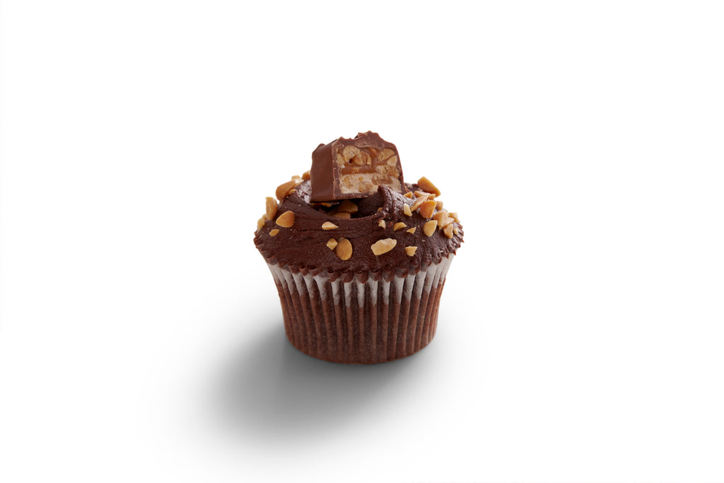 Monthly Special: Snickers Cupcakes