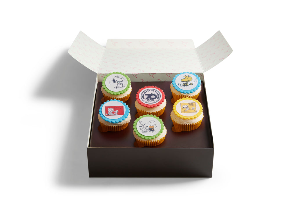 Made Without Gluten Peanuts Cupcake Box