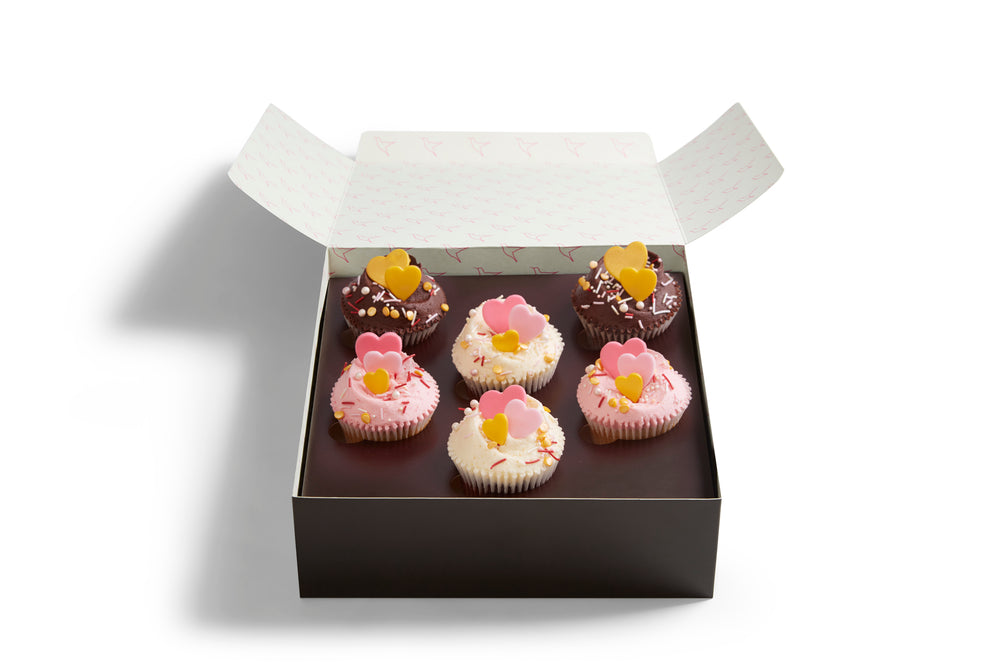 Valentine's Cupcake Selection Box
