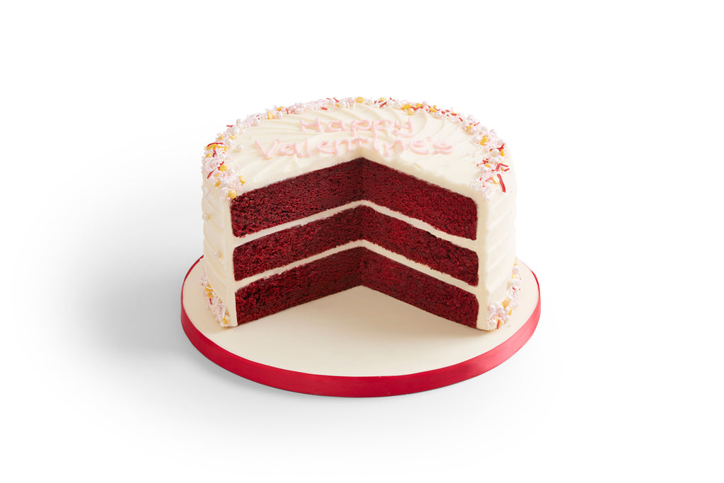 Made Without Gluten Valentine's Red Velvet Cake
