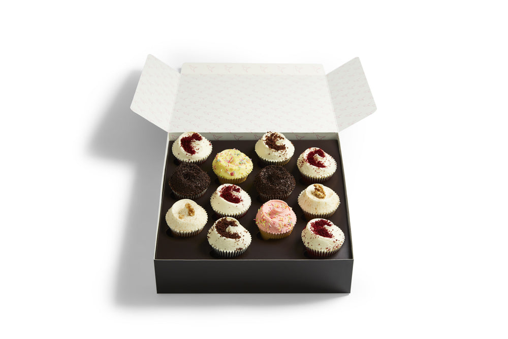 Mixed Cupcake Selection Box
