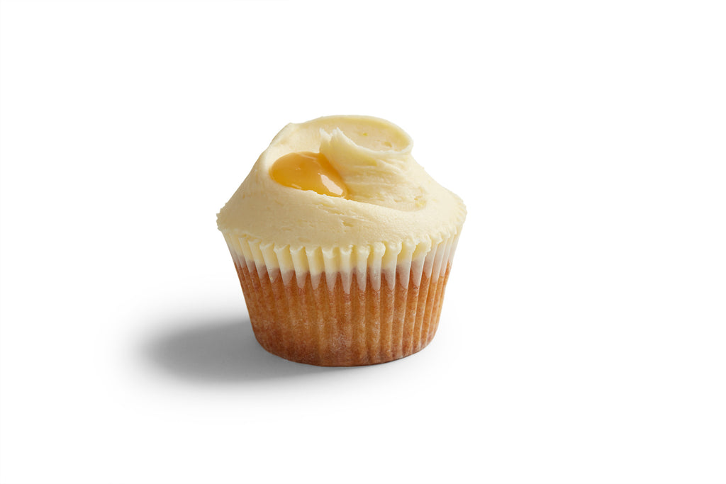 Monthly Special: Lemon Curd Cupcakes