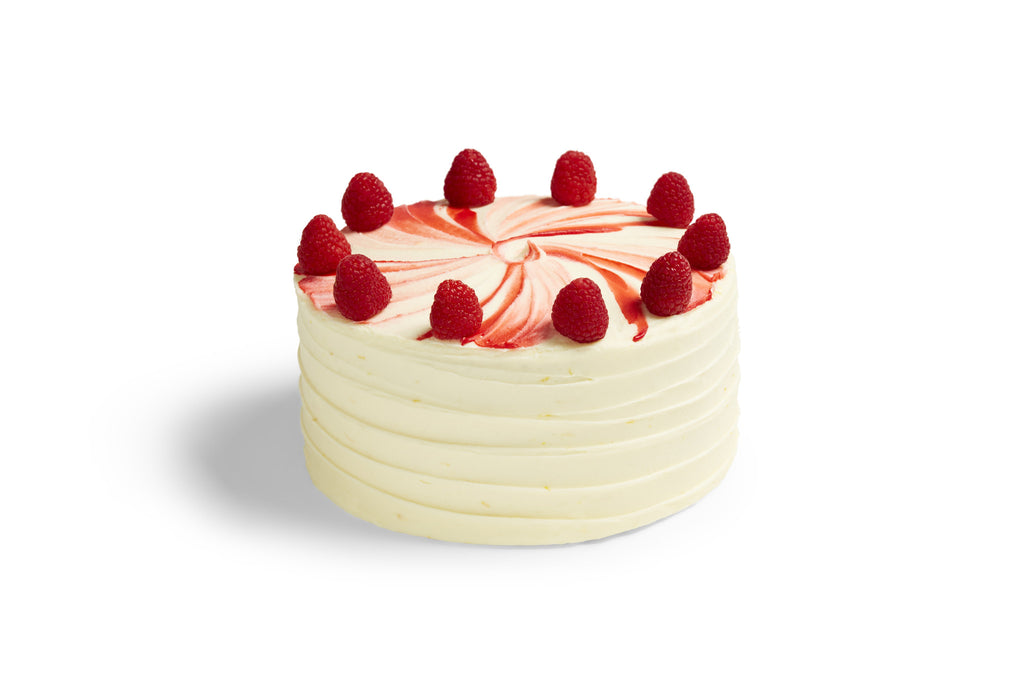 Lemon Raspberry Ripple Cake