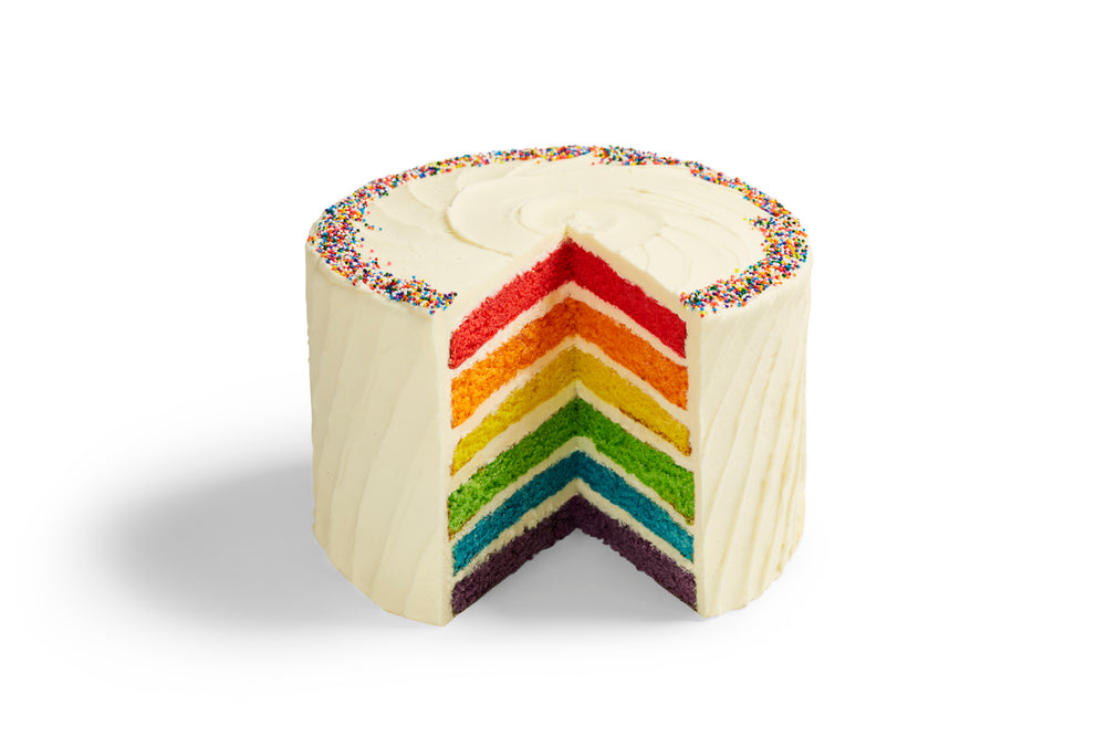 Made Without Gluten - Rainbow Cake