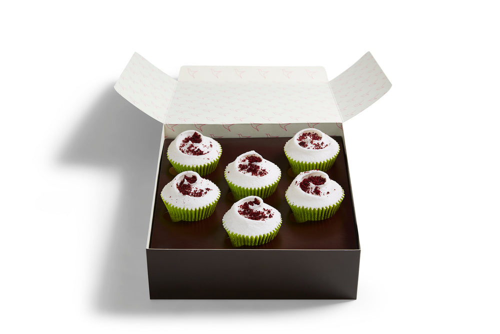 Small Vegan Red Velvet Selection Box