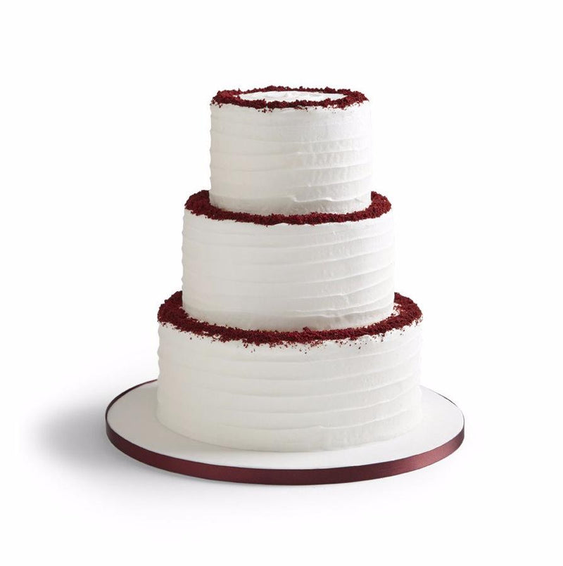 Red Velvet Wedding Cake The Hummingbird Bakery