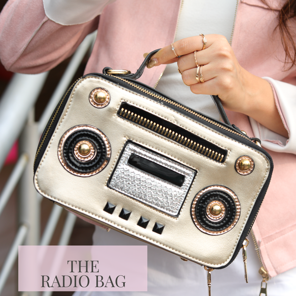 Turn On The Radio Sling Bag