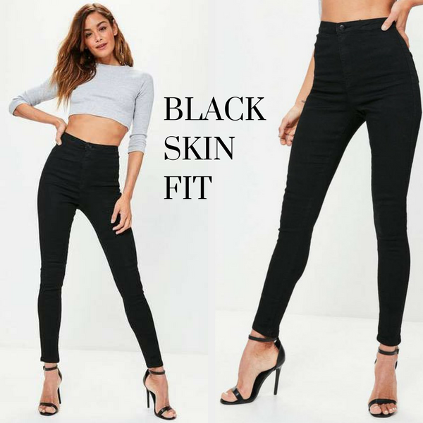 Black High Waisted Ultimate Fit Jeans