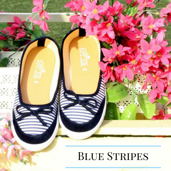 Casual Stripe Loafers