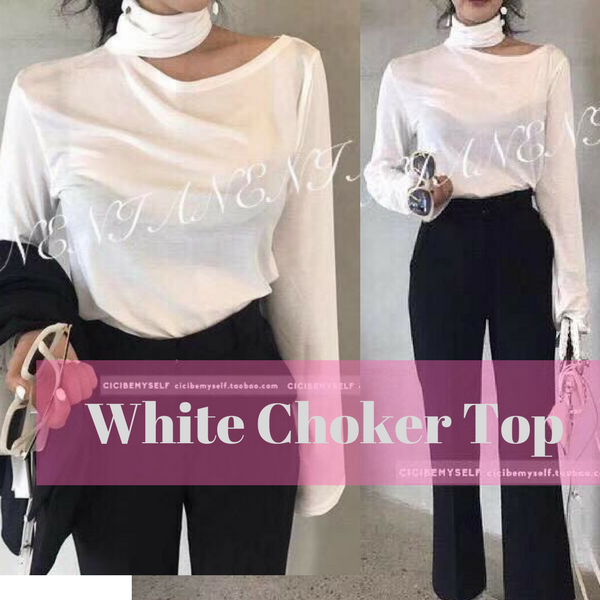 Choker One Shoulder Top