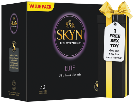 SKYN® Elite 40 with FREE Sex Toy (Subscription)