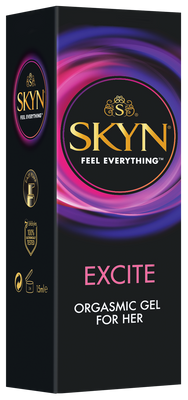 Bonus SKYN® Excite Orgasmic Gel for Her 15ml and SKYN® 80ml lube bundle