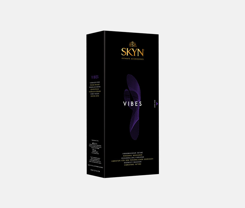 SKYN® Aqua Feel 80ml Lube pack of 2 plus SKYN Vibes